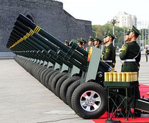 高清图:国庆60周年大会隆重举行