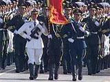 组图:徒步01三军仪仗队方队