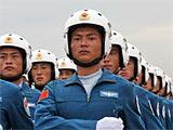 组图:徒步08空军飞行学员