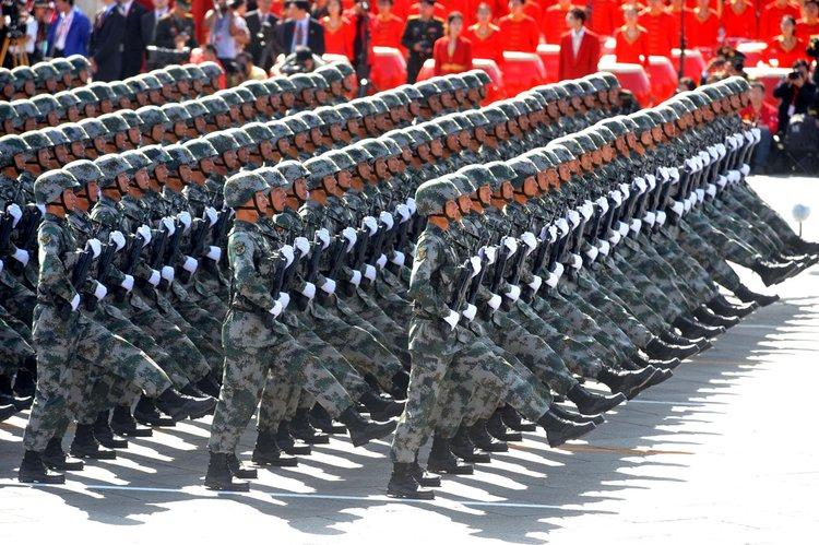 2009年国庆60周年大阅兵分列式和群众大游行精选集 - 山里人 - 乡 村 耕 耘