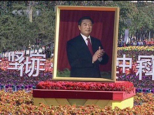 中国四位不同代领导人原声在天安门广场重现图片
