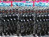 组图:徒步03陆军步兵方队