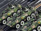 组图:车辆05 轮式步战车方队
