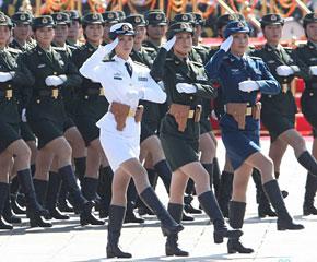 高清图:国庆60年大阅兵之徒步方队图片精选