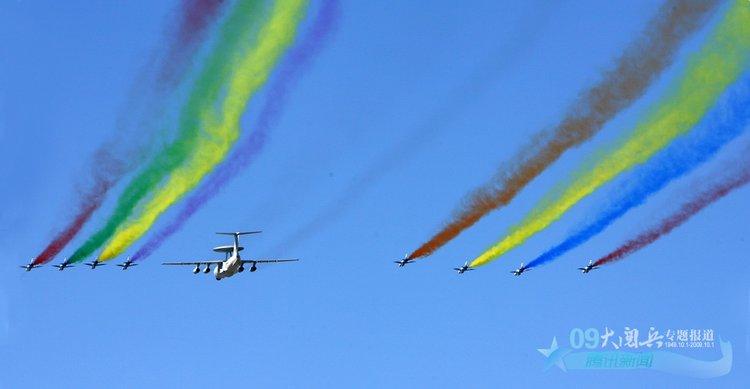国庆阅兵——飞机拉线的迷茫 - 白若宏 - bairuohong2007的博客