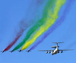 高清图:国庆60年大阅兵之空中方队图片精选