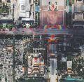 高清图片:60周年国庆大阅兵卫星照片