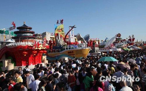 天安门广场国庆彩车展示时间延长至10月11日
