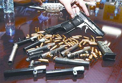 """""""瘾君子""""牵出惊人制枪案"""