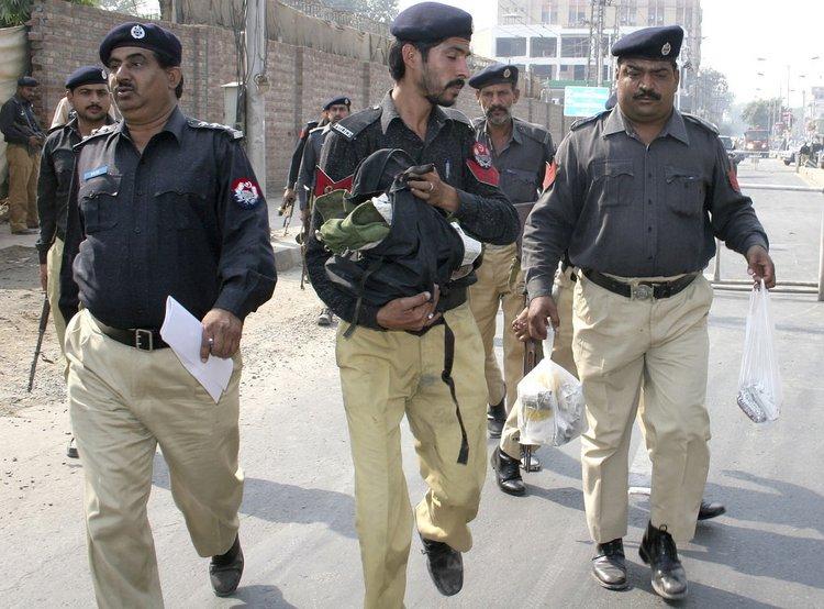 巴基斯坦警察警衔示图