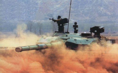 我军一辆新型99式坦克堪抵老式坦克一个连(图)