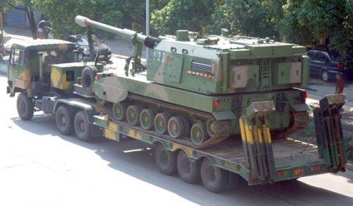 国产PLZ-05自行加榴炮(组图)