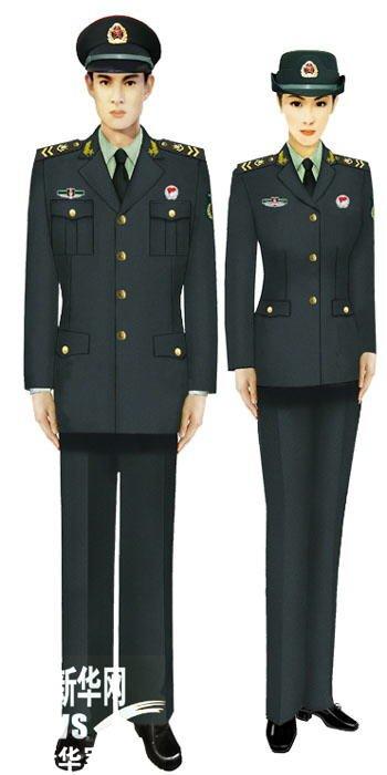 奥巴马解放军军装照 解放军陆军军装 解放军14式新军装图