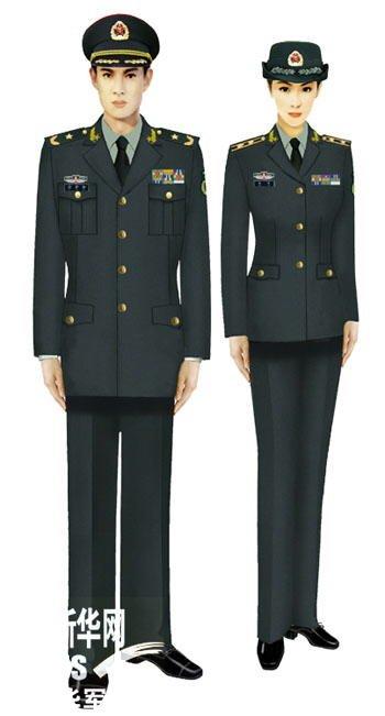 空军常服 07式陆军春秋常服 07式陆军春秋常服图片