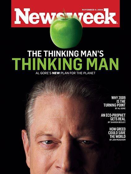 《新闻周刊》:思想者:环保主义者戈尔