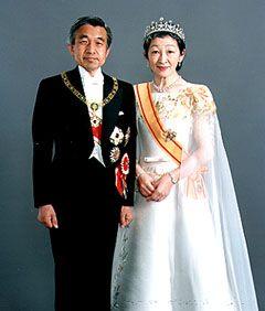 日本明仁天皇与皇后美智子