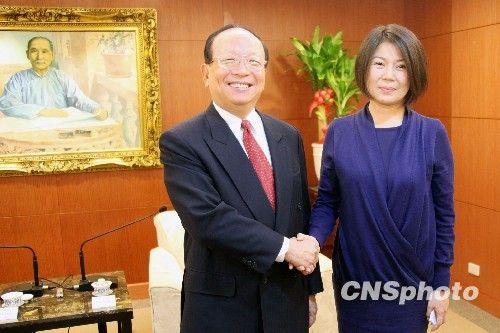 毛蒋后代台湾握手言欢 政治恩怨一扫而尽(图)