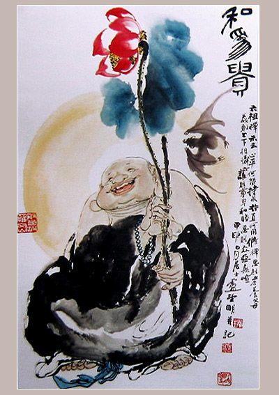 七旬大师卢望明隐迹山林开辟中国禅画新境界