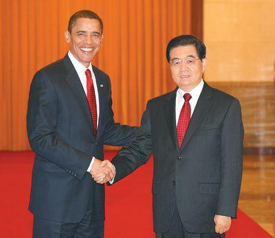 胡锦涛就进一步推进中美关系发展提五点主张