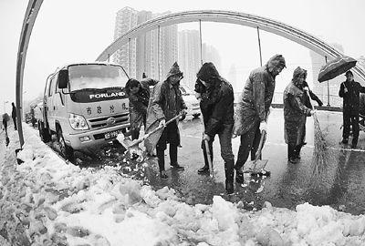 专家称南方雨雪引发大范围冰冻灾害可能性不大