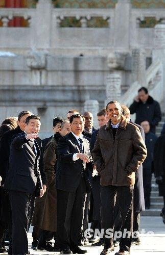 奥巴马参观故宫 赞其雄伟壮丽 - 珠峰雪豹 - 珠峰雪豹—小桥人家,海角天涯!