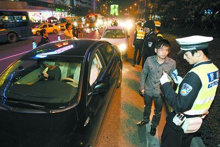 重庆市长要求严查岁末酒驾 交警将守在酒店外