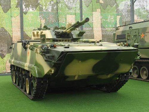 美媒解读中国ZBD步战:100mm炮可射导弹(组图)