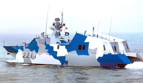 外媒:中国打造亚洲规模最大的濒海战斗舰队