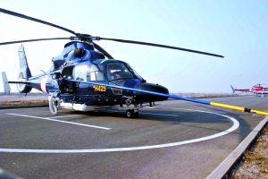 汶川救援直升机今天亮相天津滨海