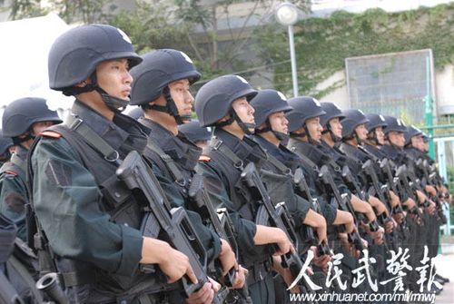揭秘:武警官兵全程参与奥巴马访华安保工作