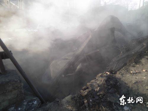 鹤岗矿难事故4名遇难矿工今日出殡(图)