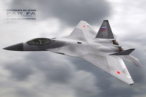 俄称五代战机性能超过F-22 可攻击400KM外目标
