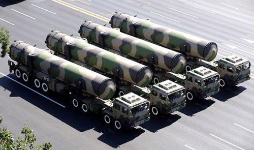 外媒:中国10月份秘密试射东风-31A导弹(图)