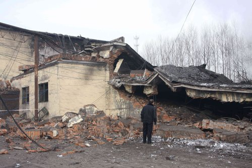 107人在黑龙江鹤岗矿难中遇难