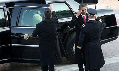 组图:揭秘奥巴马安保措施 感受世界最强武器