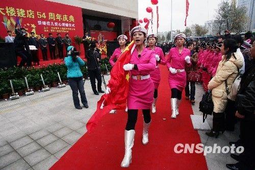 女兵方队领队亮相潍坊; ·国庆受阅女民兵方队成员亮相山东潍坊(组图)