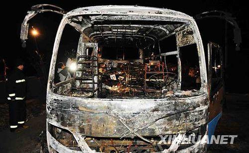 黑龙江肇源客车起火事故初步认定为车体自燃_