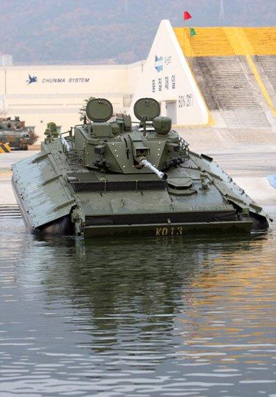 韩国K21战车配备反坦克导弹 号称火力全球最强