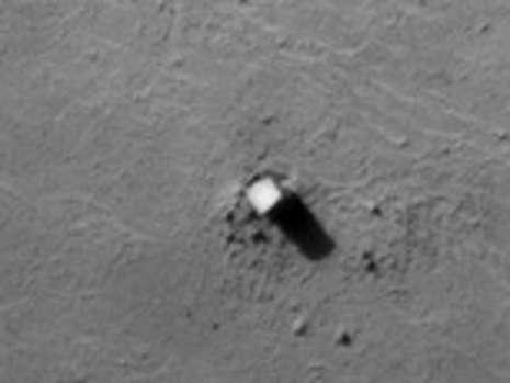 火星上发现神秘机械 疑似外星人曾造访火星