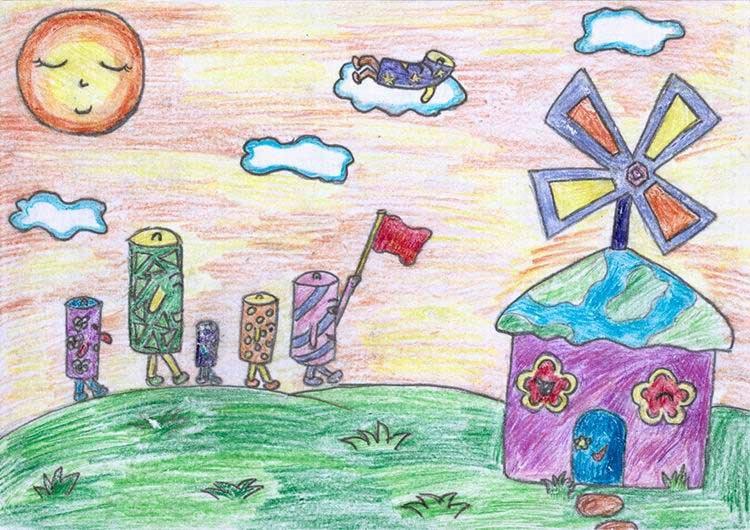 中国儿童心愿点亮哥本哈根之点亮蓝天