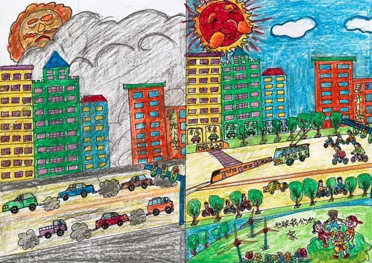 7岁儿童画画图片::3年级画画图片一等奖::简易画画