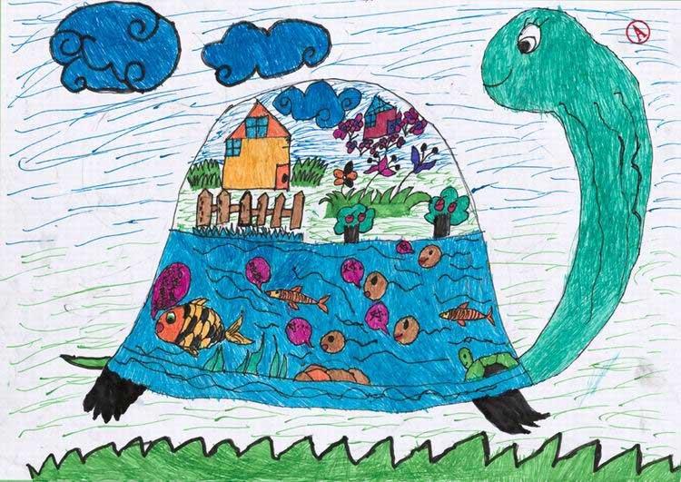 中国儿童心愿点亮哥本哈根之地球家园