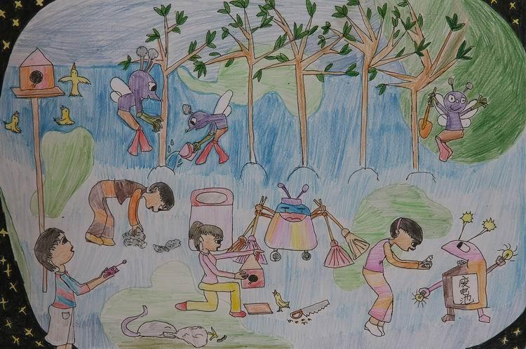 体育运动儿童画 div 六一儿童画大全