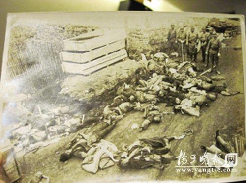 日本友人送来16件南京大屠杀证物(图)