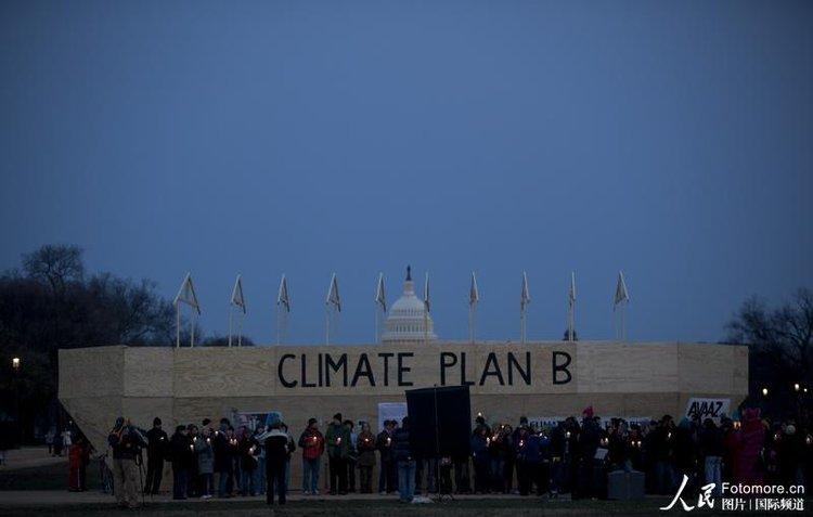 """美国华盛顿国家大广场上的一艘""""诺亚方舟"""""""