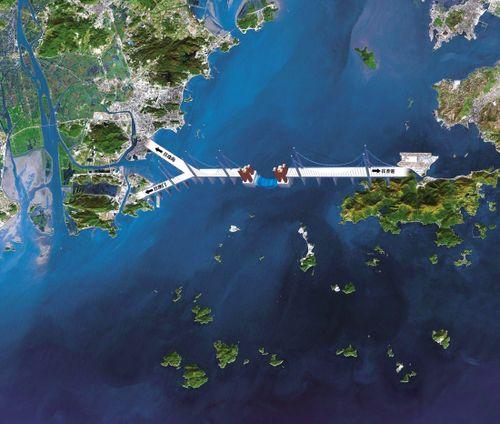 港珠澳大桥今早开工