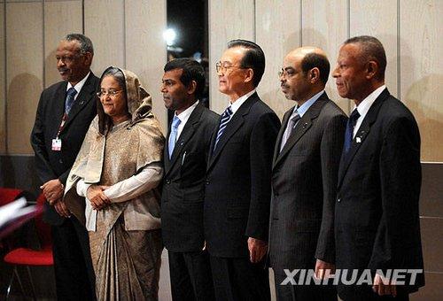 家宝会见马尔代夫总统等多国领导人