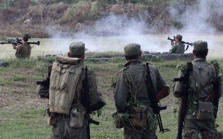 中国武警教官赴古巴为其培训特种部队图片