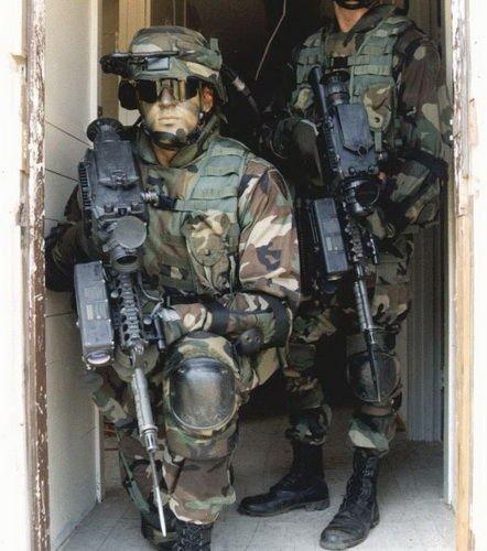 资料图;目前已经有1000套陆地勇士单兵作战系统装备美军部队