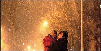 北京新年首场大雪将创40年最低温(图)